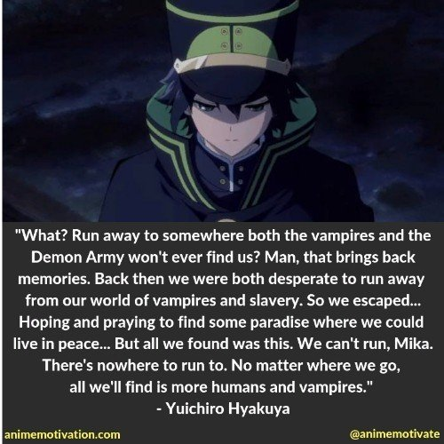 100+ Of The Best Owari No Seraph Quotes That Are Timeless
