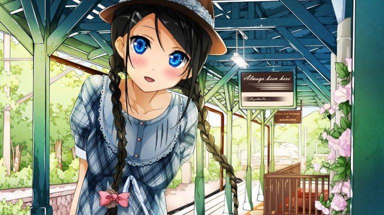 beautiful anime girl wallpaper cute smile