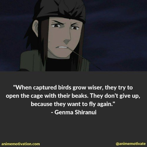 genma shiranui quotes | 100+ Of The Greatest Naruto Quotes For Shounen Anime Fans