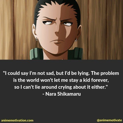 nara shikamaru quotes 2 | 100+ Of The Greatest Naruto Quotes For Shounen Anime Fans