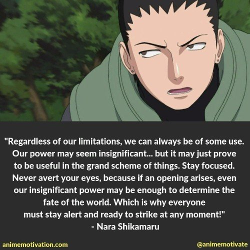 nara shikamaru quotes | 100+ Of The Greatest Naruto Quotes For Shounen Anime Fans