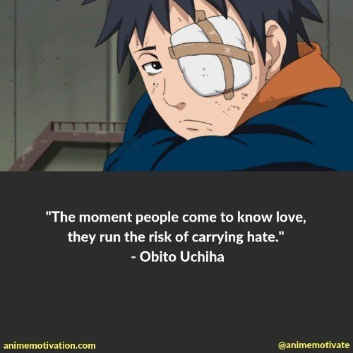 obito uchiha quotes 2 | 100+ Of The Greatest Naruto Quotes For Shounen Anime Fans
