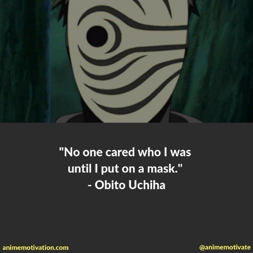 obito uchiha quotes | 100+ Of The Greatest Naruto Quotes For Shounen Anime Fans