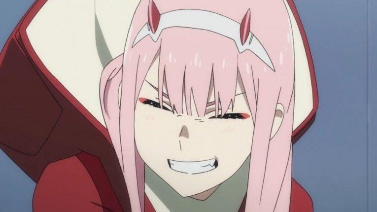 zero two smiling