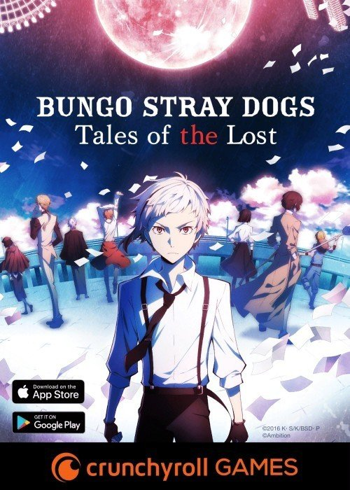 """Crunchyroll's Bungo Stray Dogs: """"Tales of the Lost"""" hits iOS and Android (2018)"""