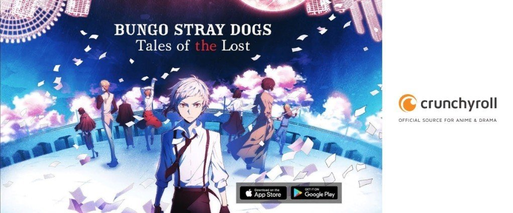 "Crunchyroll's Bungo Stray Dogs: ""Tales of the Lost"" hits iOS and Android (2018)"