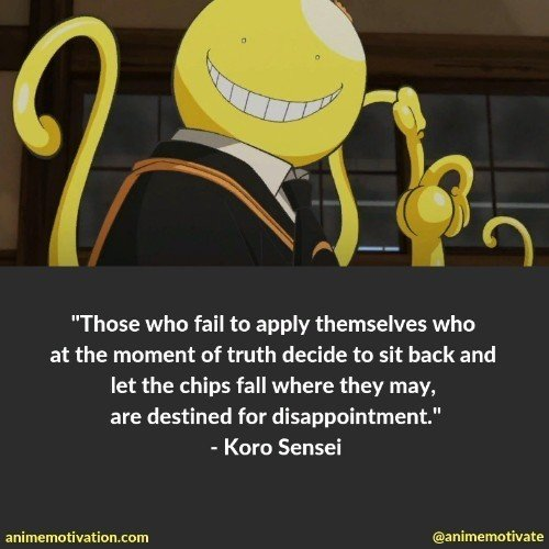 31 Thought Provoking Quotes From Assassination Classroom