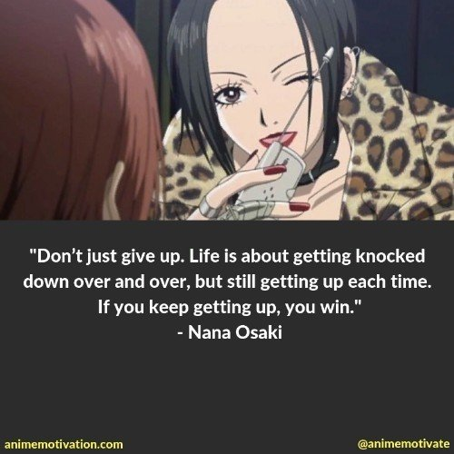 23 Anime Quotes From NANA About Life And Romance