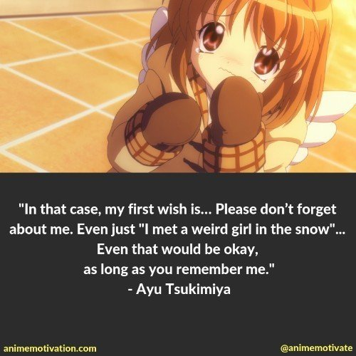 21 Of The Best Quotes From Kanon That You'll Connect With