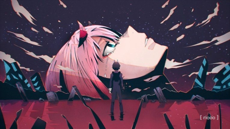 darling in the franxx wallpaper zero two
