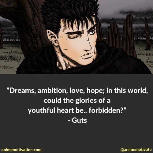 The Greatest Anime Quotes About Achieving Your Dreams And Ambitions