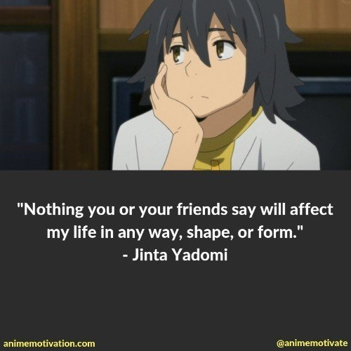 A Collection Of The BEST Anohana Quotes You'll Understand As An Anime Fan