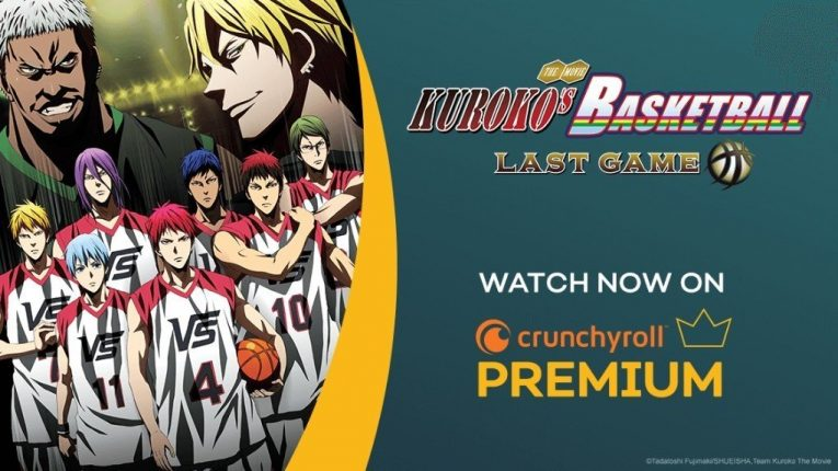 Kuroko's Basketball The Movie: LAST GAME Available by Crunchyroll