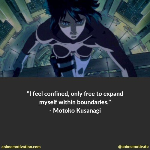 26 Of The Most Powerful Ghost In The Shell Quotes That Are Timeless