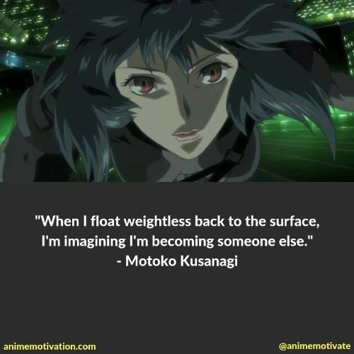 motoko kusanagi quotes 3