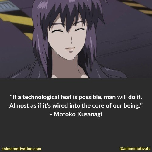 motoko kusanagi quotes 6