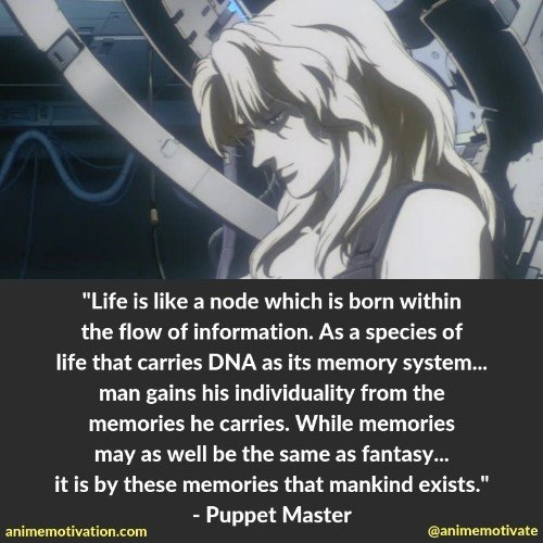 26 Powerful Ghost In The Shell Quotes That Will Make You Think!
