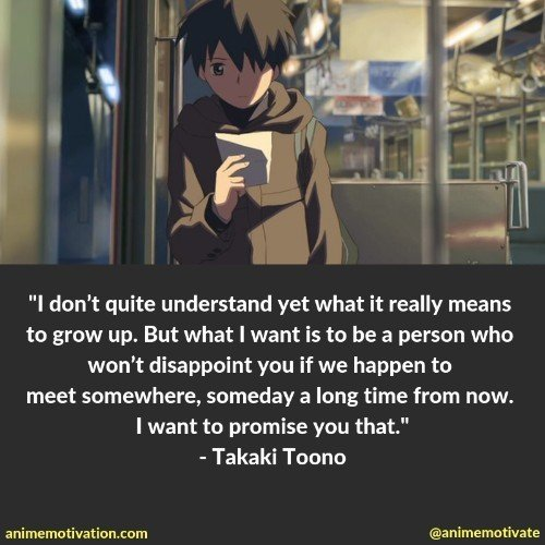 All Of The Best 5 Centimeters Per Second Quotes That Will Tug On Your Heart Strings