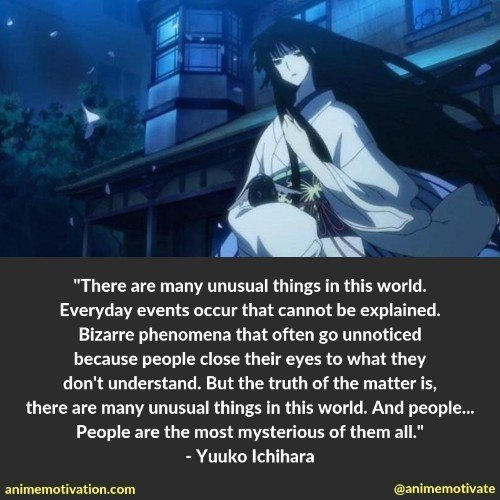 These 38 xxxHolic Quotes Are A MUST See For Anime Fans