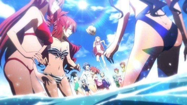 anime girls beach episode