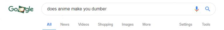 does anime make you dumber google