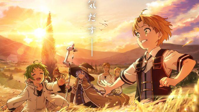 mushoku tensei smile wallpaper anime