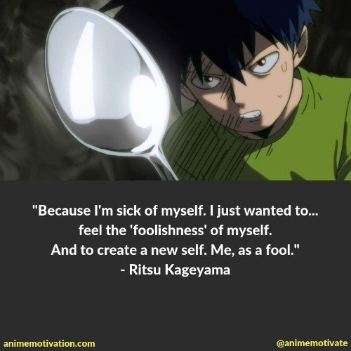 The Best Mob Psycho 100 Quotes You Need To See That Are Inspirational 23