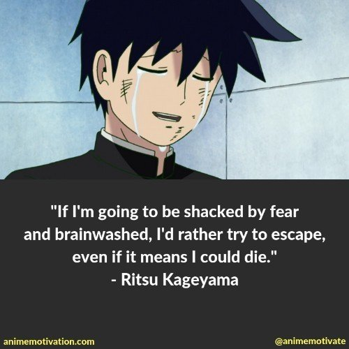 The Best Mob Psycho 100 Quotes You Need To See That Are Inspirational 18