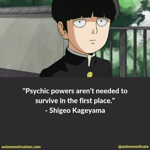 The Best Mob Psycho 100 Quotes You Need To See That Are Inspirational 9