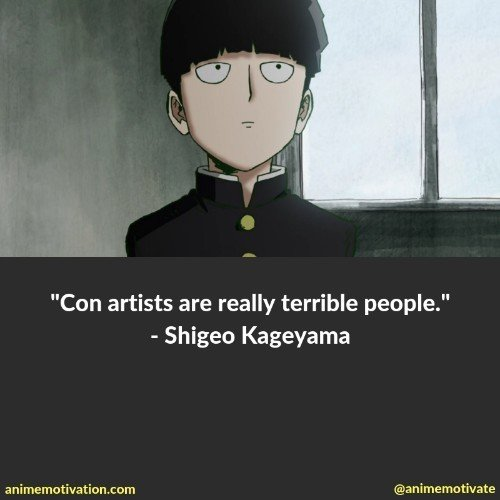 The Best Mob Psycho 100 Quotes You Need To See That Are Inspirational 10