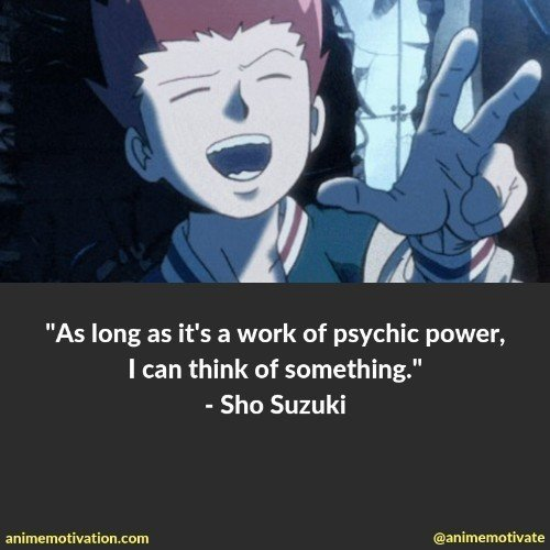 The Best Mob Psycho 100 Quotes You Need To See That Are Inspirational 17