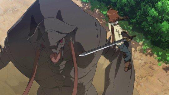 tatsumi fighting danger beast