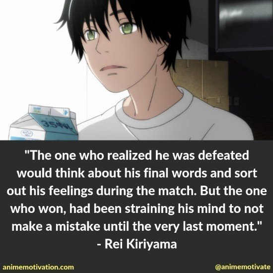 """15+ Meaningful Quotes From """"March Comes In Like A Lion"""" For Seinen Fans"""