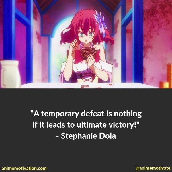 Stephanie dola quotes no game no life