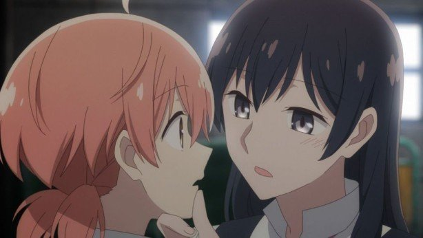bloom into you lesbian anime