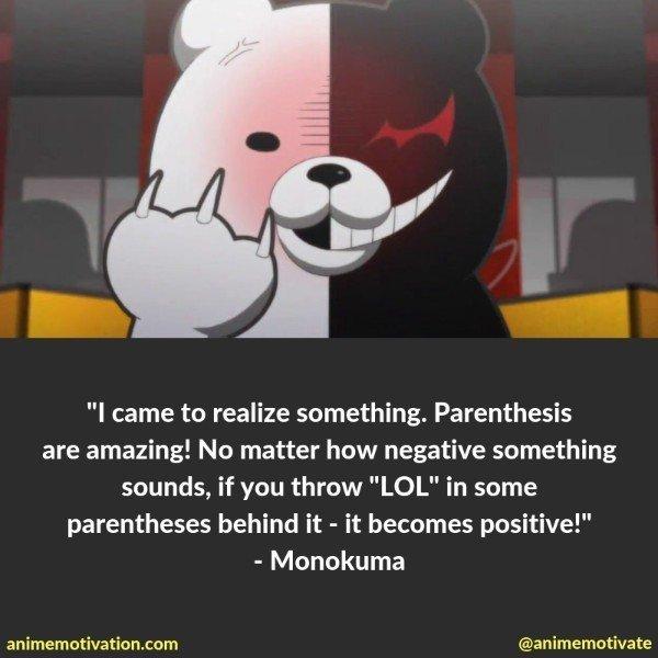 monokuma quotes 5