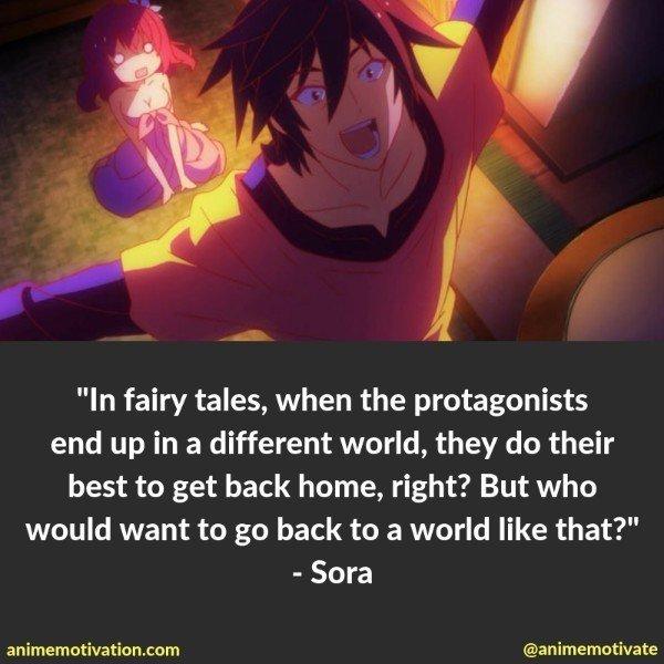 sora quotes no game no life 5