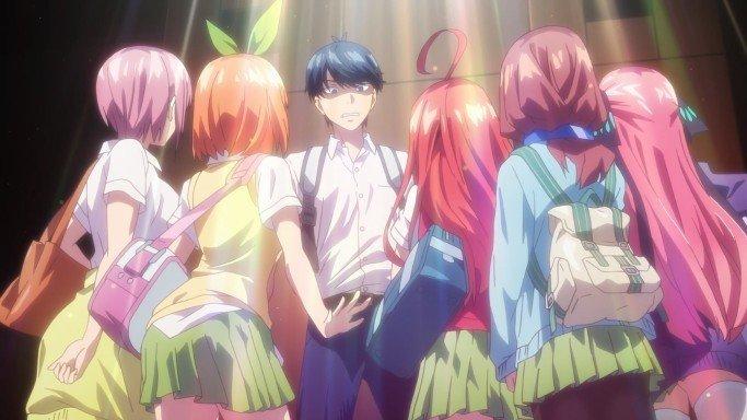 the five wedded brides anime harem
