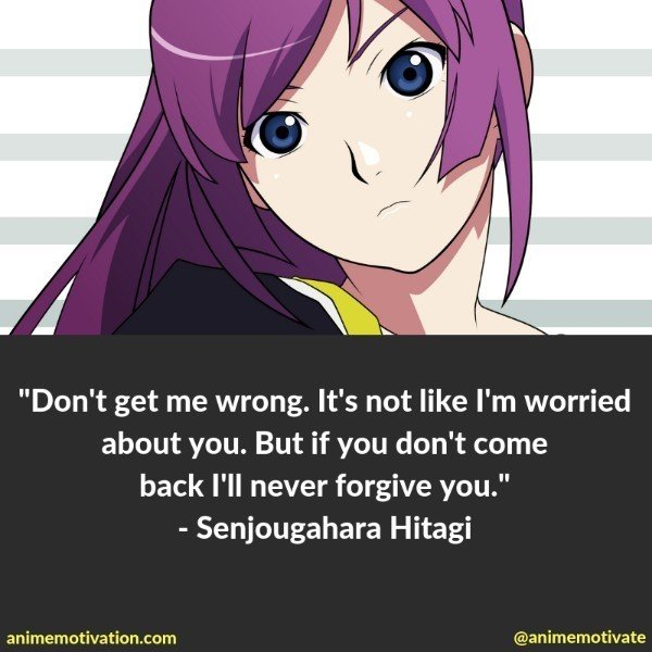 70+ Character-Defining Monogatari Quotes To Help You Remember The Anime