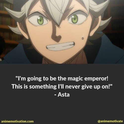 All of The BEST Black Clover Quotes To Help You Remember The Anime