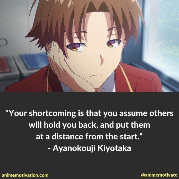 ayanokouji kiyotaka quotes 2