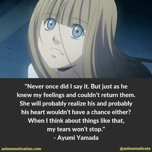 The Sweetest Honey And Clover Quotes That Will Touch Your Heart