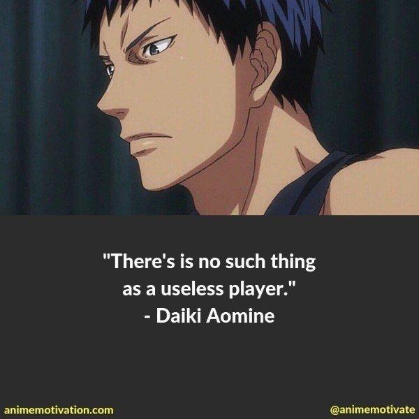 daiki aomine quotes 1