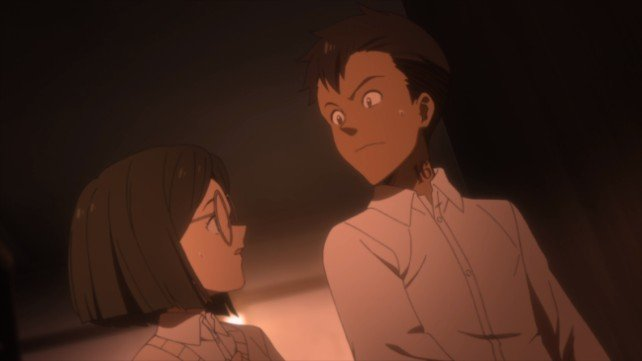 don and gilda the promised neverland anime