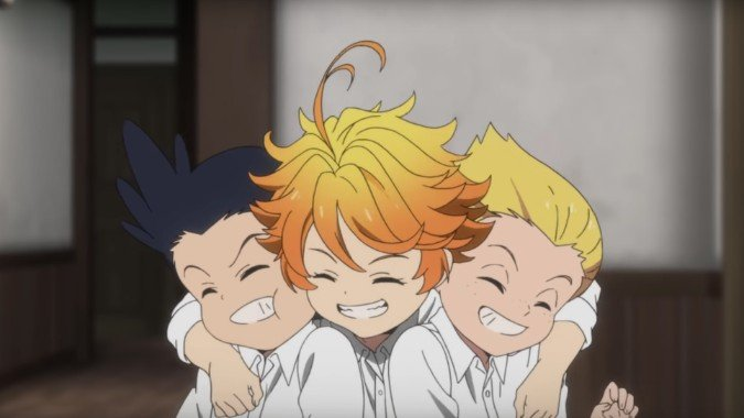 emma and the kids the promised neverland