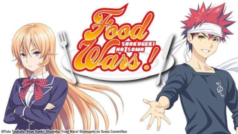 food wars original cover