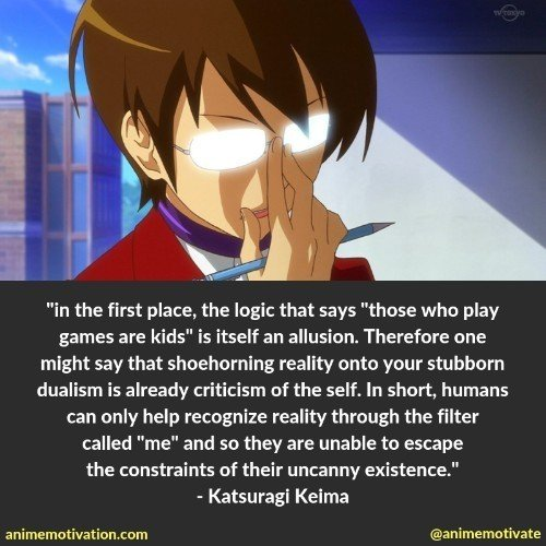 "27+ Surprisingly Good Quotes From ""The World God Only Knows"""