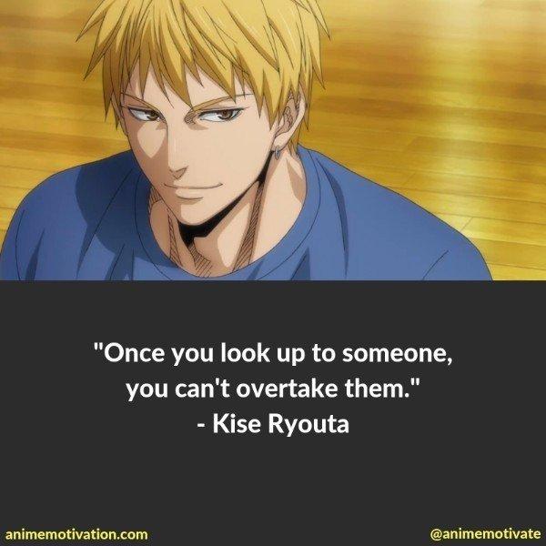 kise ryouta quotes