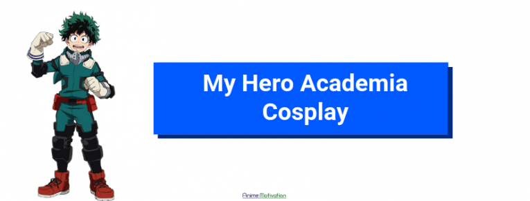 my hero academia cosplay anime motivation