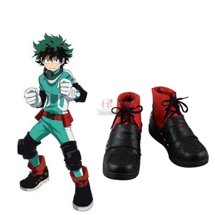 my hero academia izuku midoriya cosplay shoes 3